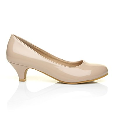 Low Heel Nude Pumps UovoAntN
