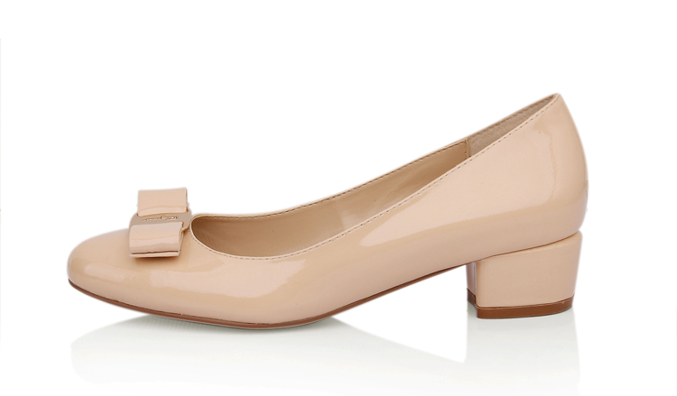 Low Heel Nude Pumps RxDtGPd3