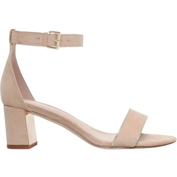 Low Heel Nude Sandals jm79zJqj