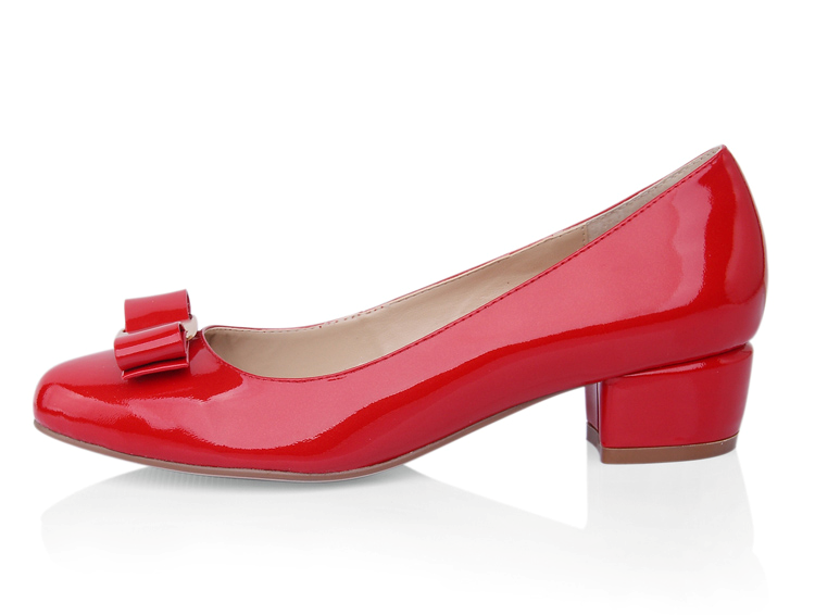 Low Heel Red Pumps WGVmckTq