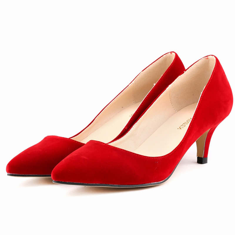 Low Heel Red Pumps jOkAR5k3