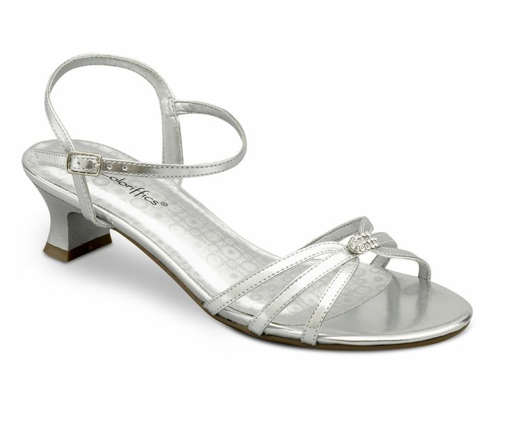Low Heel Silver Evening Shoes r3GtDFK9