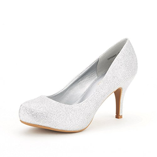 Low Heel Silver Pumps uqy33994