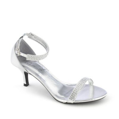 Low Heel Silver Shoes 2CdzzT8S