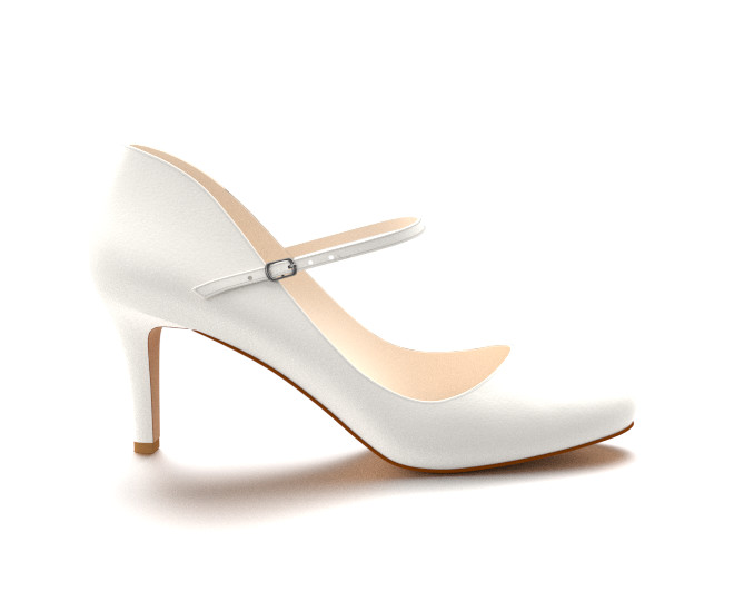 Mary Jane White Heels pV3oQHUw