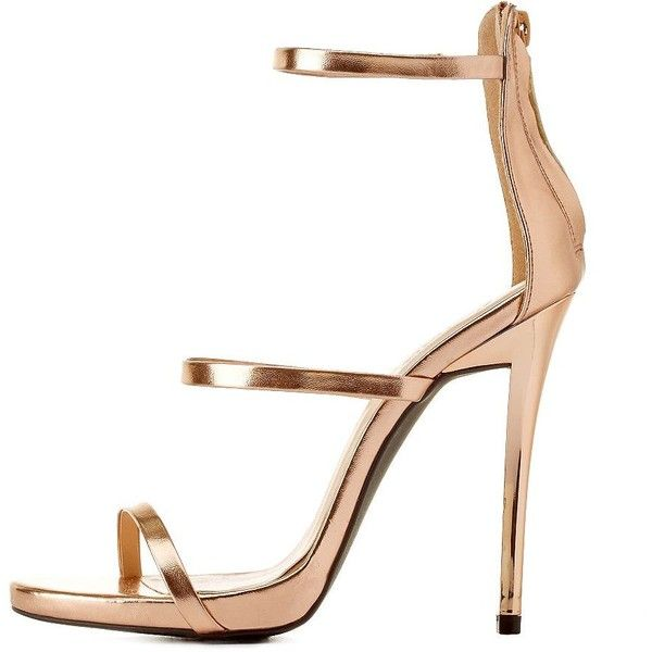 Metallic Gold Sandals Heels pCLfGn2q