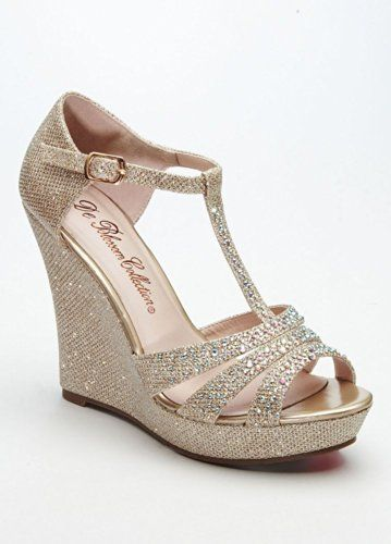 Metallic Wedge Heels IoLtPLmy