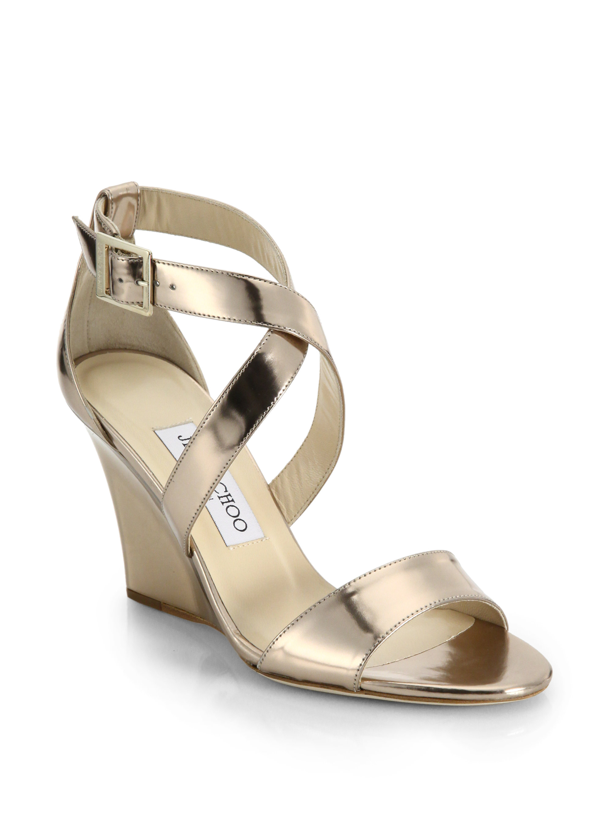 Metallic Wedge Heels EtNUjCza