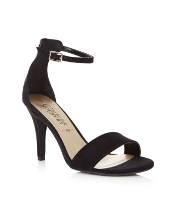 Mid Heel Sandals With Ankle Strap lZfkijHA