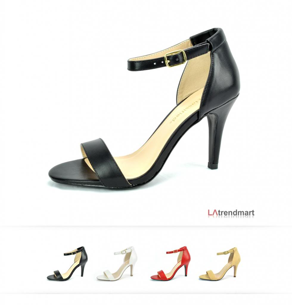 Mid Heel Sandals With Ankle Strap 8zsJqyHa