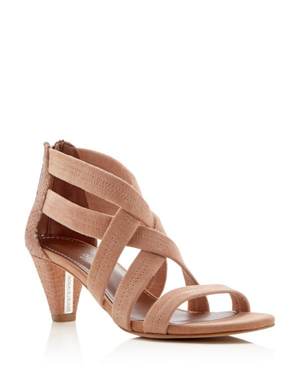 Mid Heel Strappy Sandals A37ADOO1