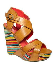 Multi Color Wedge Heels 70lQI45e