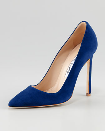 Navy Blue Pointed Toe Heels S2p3hPNL