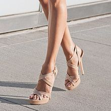 Neutral Strappy Heels uq8BHGLV