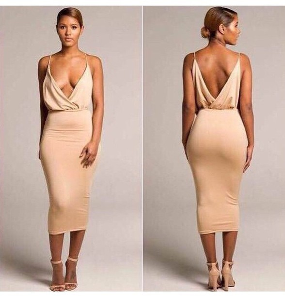 Nude Dress Heels 7DSDYShW