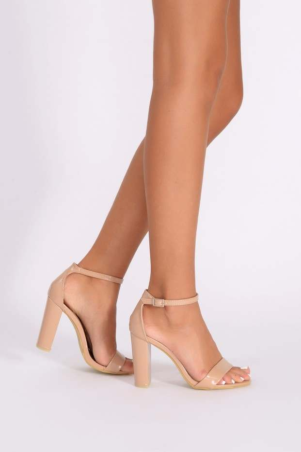 Nude Heels With Ankle Strap XPvsuMaW
