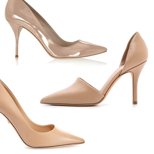Nude Pointed Heels 85CTka5S