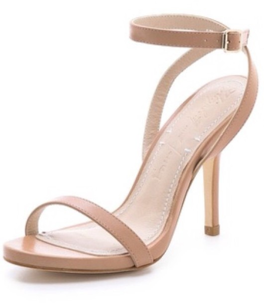 Nude Shoes Low Heel gunBEbcX