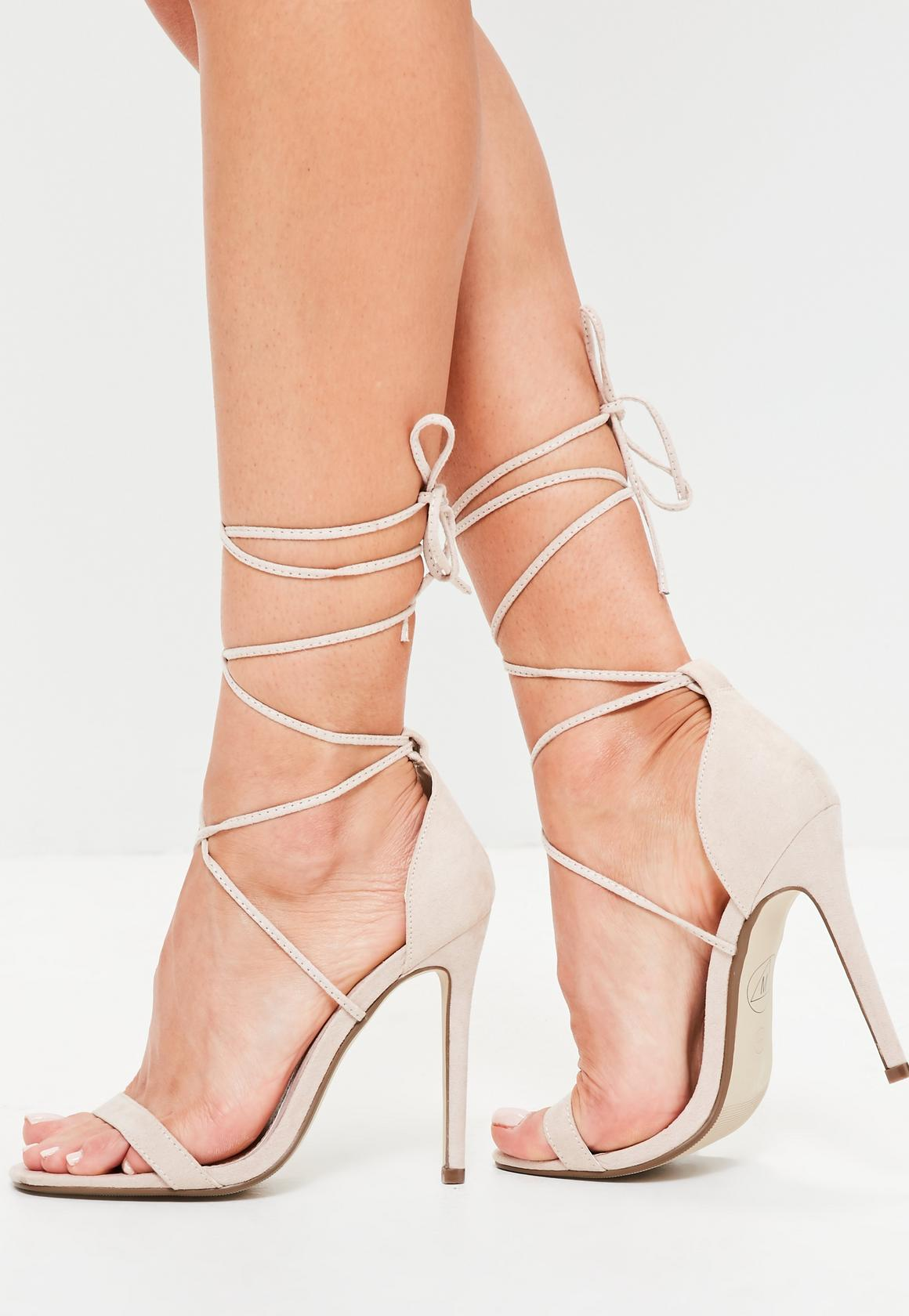 Nude Strappy High Heels tIjLuBdx