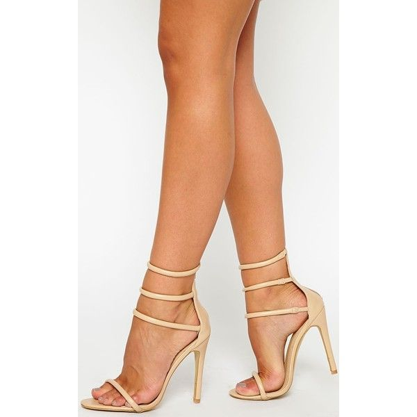 Nude Strappy High Heels tnGCiJtv