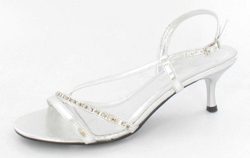 One Inch Silver Heels pSH5LE1H