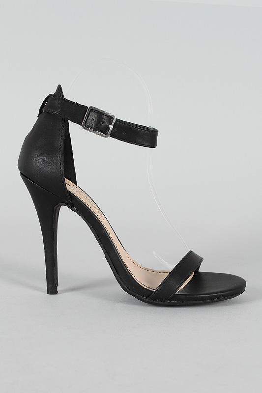 Open Toe Ankle Strap Heels pTmGuvqM