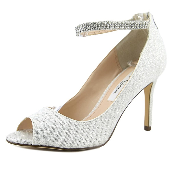 Open Toe Silver Heels Co37rUHV