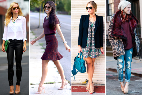 Outfits With Nude Heels w5dzDedH