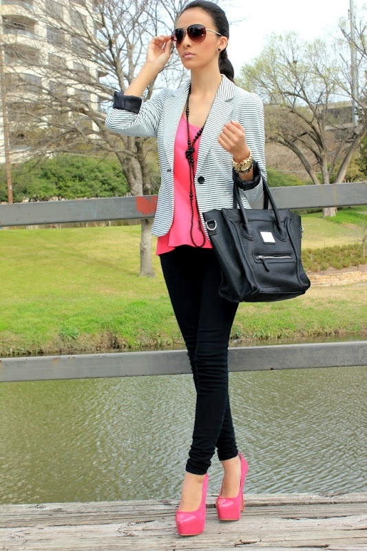 Outfits With Pink Heels Q51xlx6D