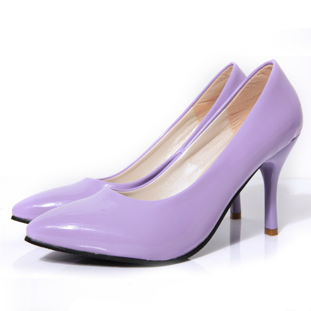 Pastel Purple Heels tM7iUUti