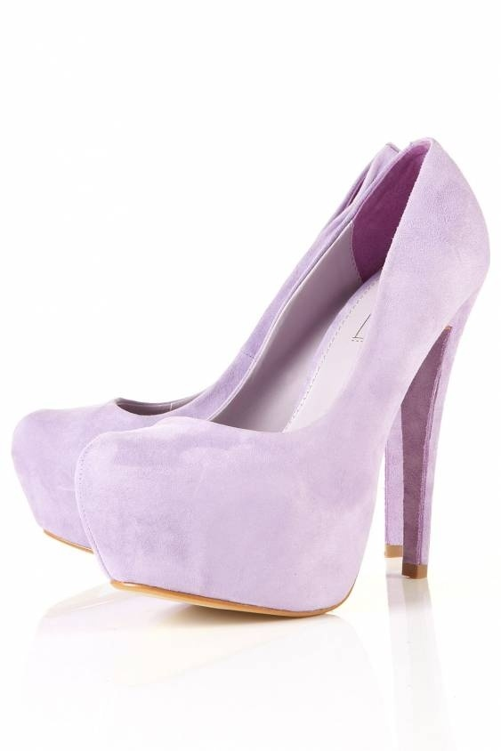 Pastel Purple Heels 8Mp5Pygi