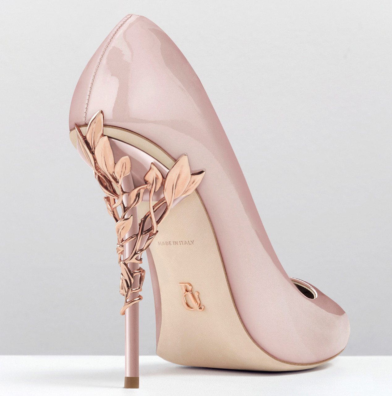 Pink And Gold Heels XMW6G40Q