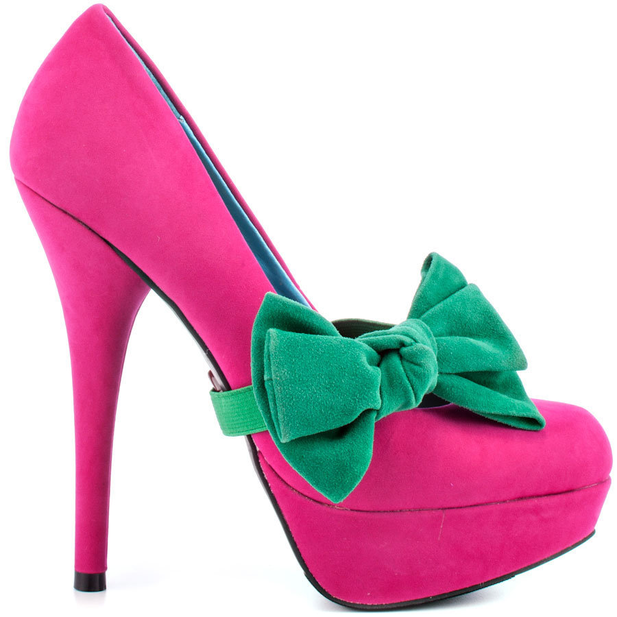 Pink And Green Shoes Heels FTcc38d6
