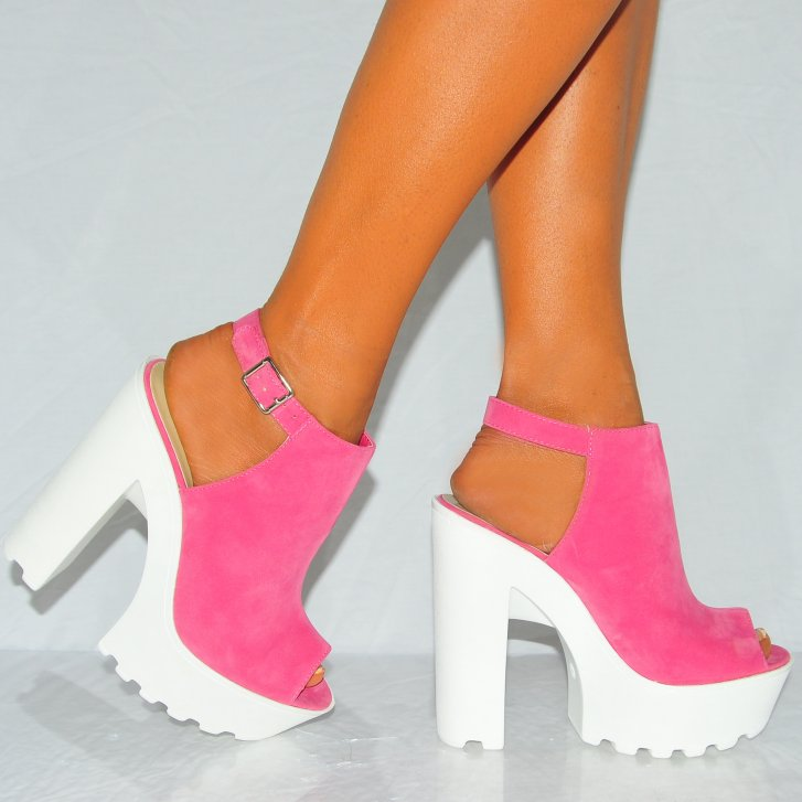 Pink And White Heels GtETGYBv