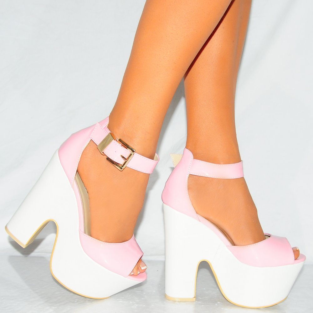 Pink And White Heels Ri1TawAg