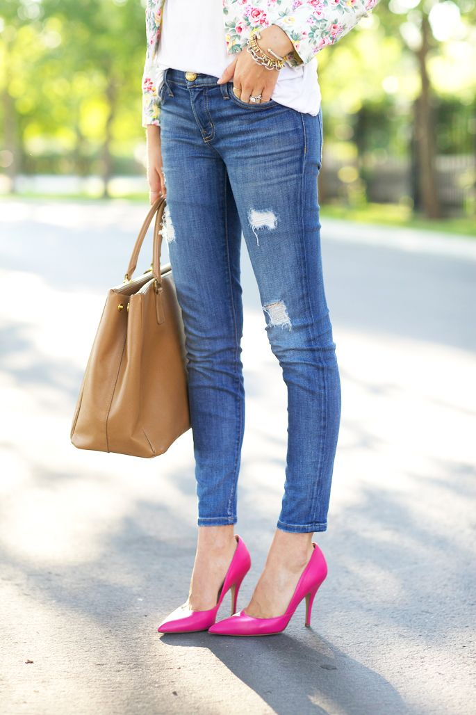 Pink Heels Outfit XY7FpLpq