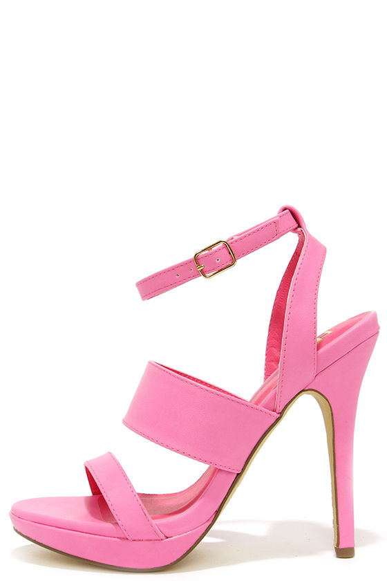 Pink High Heel Sandals lfib7Lha