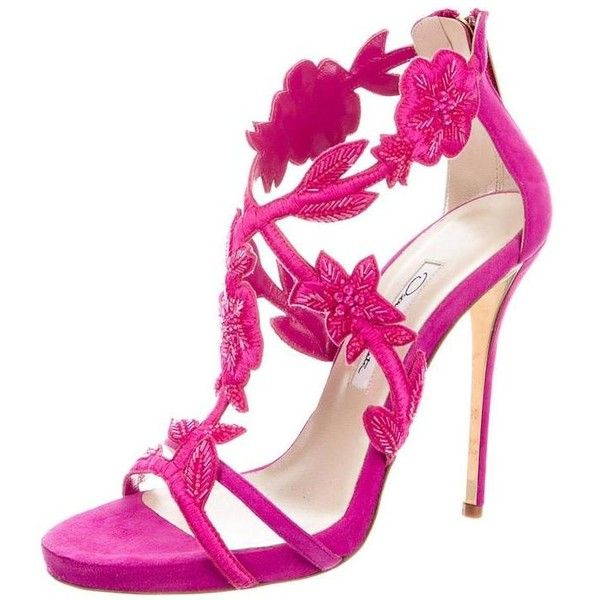 Pink High Heel Sandals gcCvyED7