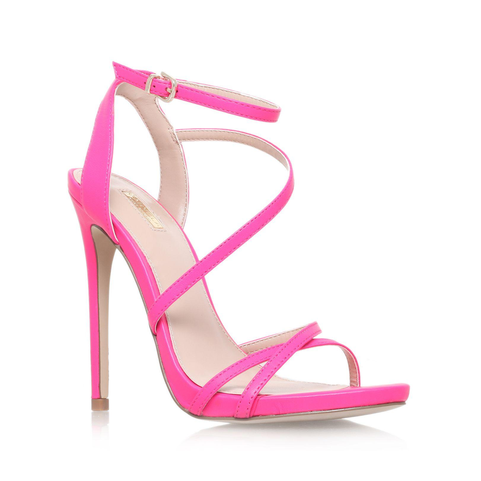 Pink High Heel Sandals QpD6K7zb