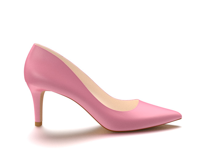 Pink High Heel Shoes 6FPz266s