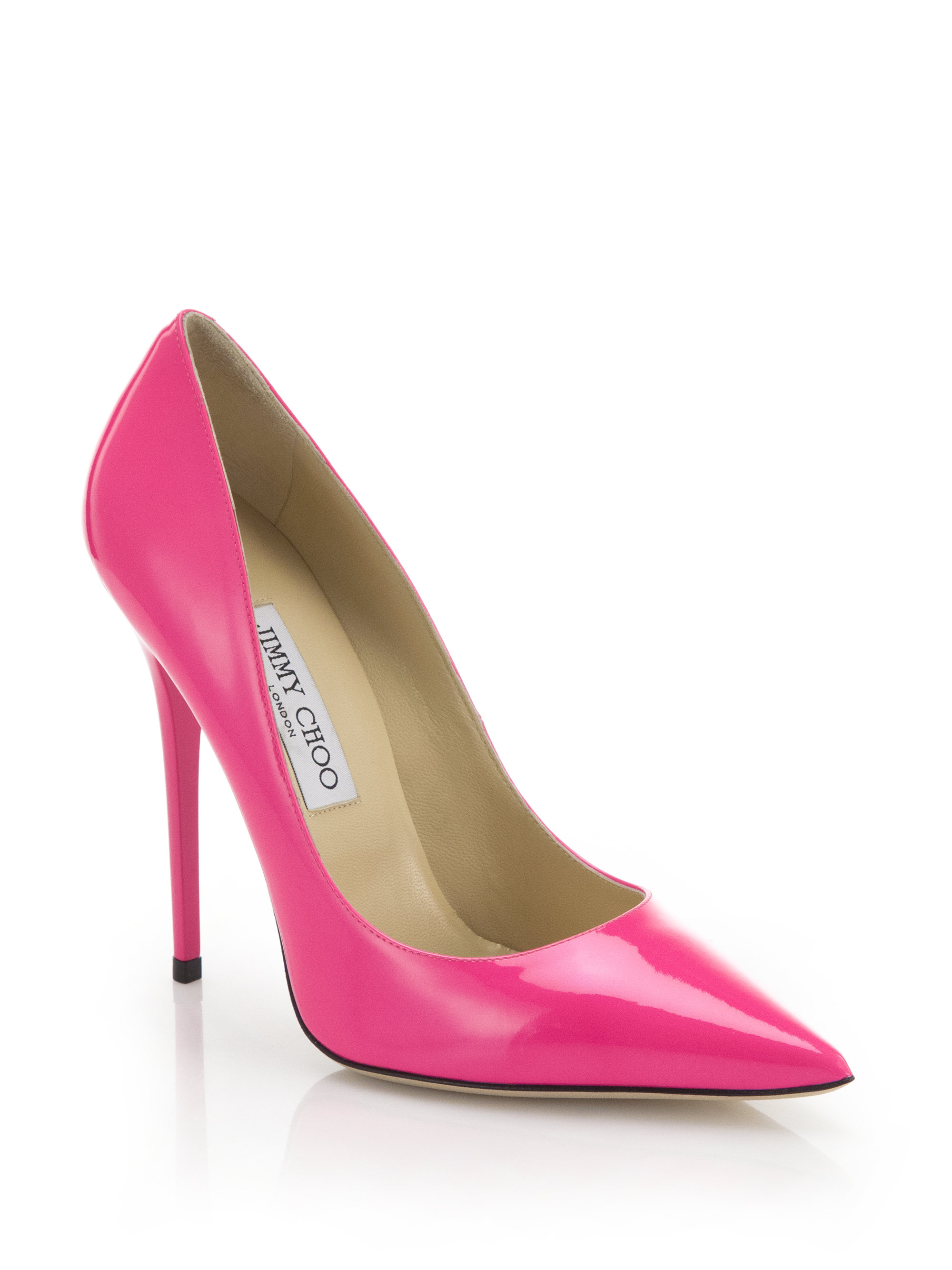 Pink Leather Heels aZ2A1FrQ