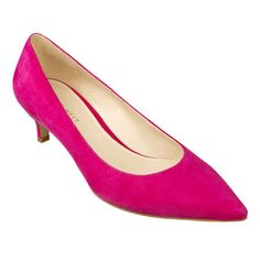 Pink Low Heel Pumps V4mMSz5D