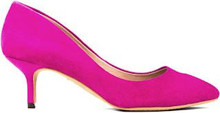 Pink Low Heel Pumps oz73A96R