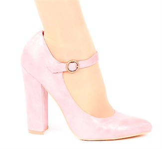 Pink Mary Jane Heels RCBS0gq7