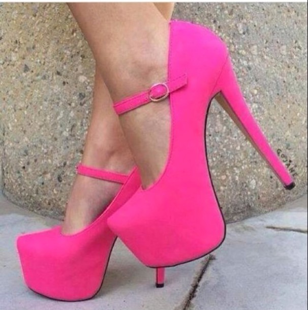 Pink Shoes Heels 4P7IUI2X