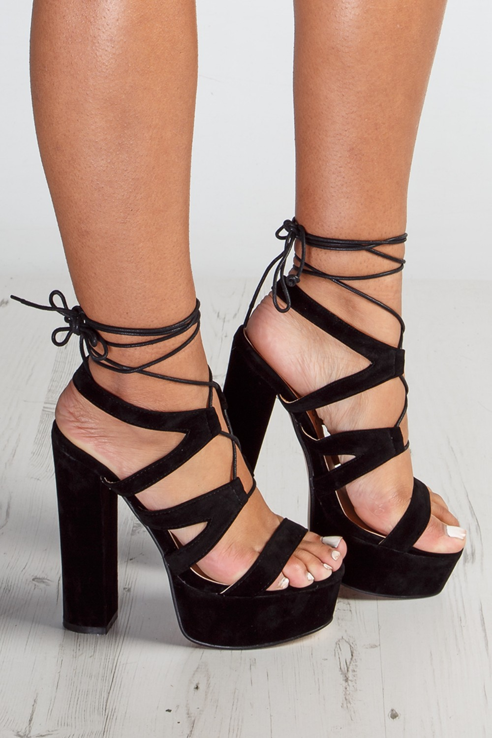 Platform Lace Up Heels Ousto1Vi
