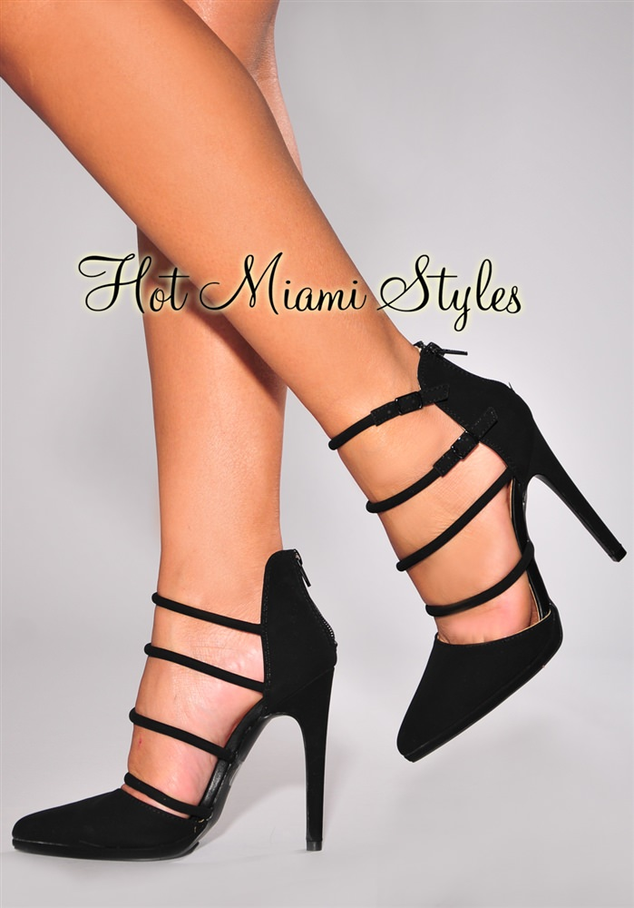 Pointed Strappy Heels erxNuSPw