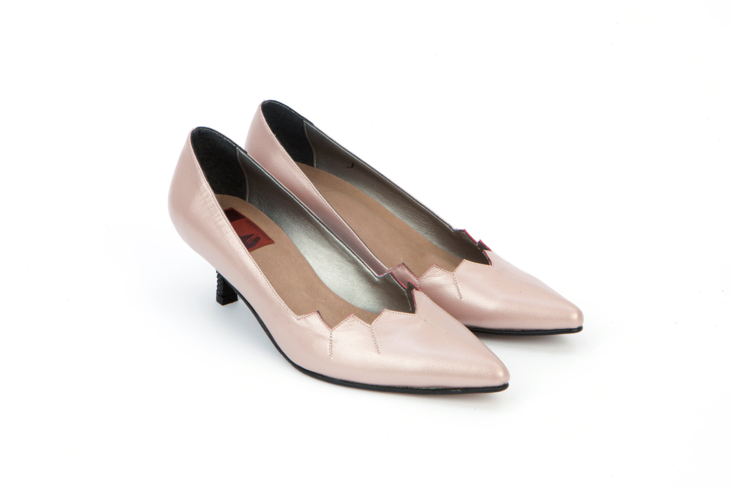 Pointed Toe Kitten Heel Shoes WnCz1nVG