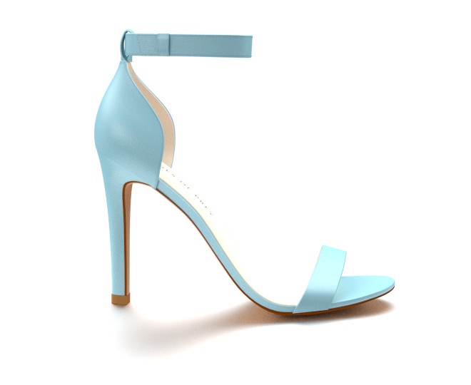 Powder Blue Heels W8POaS2b