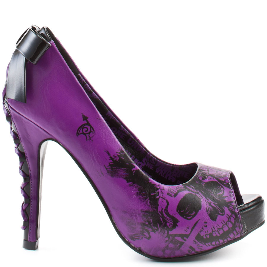 Purple And Black Heels 1iEBAvTG
